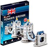 Трехмерная головоломка-конструктор «Тауэрский мост» серия мини, S3010h, отзывы