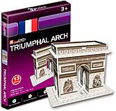 Трехмерная головоломка-конструктор «Триумфальная арка», серия мини, S3014h