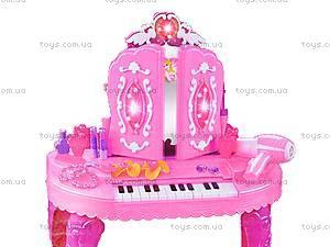 Туалетный столик детский музыкальный, LM669-015A, игрушки