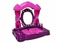 Туалетный столик с музыкальными и световыми эффектами, 383-034A, магазин игрушек