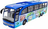 Туристический автобус «Экскурсия по городу» синий, 374 5005-2, купить