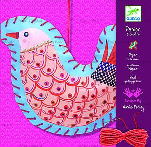 Творческий набор «Шнуровки-птички», DJ08945