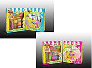 Творческий набор пластилина с формочками, 92099210, купить