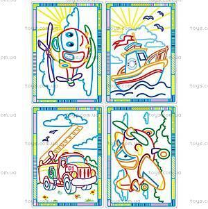 Творческий набор «Волшебные контуры», VT2601-0304, игрушки