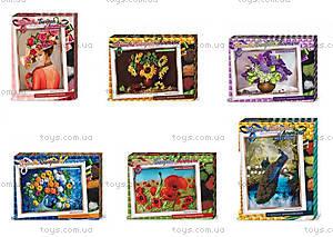 Творческий набор «Вышивка бисером и лентами», БВ-01Р-01, детские игрушки