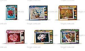 Творческий набор «Вышивка бисером и лентами», БВ-01Р-01, магазин игрушек