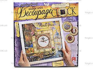 Набор для творчества «Часы Decoupage Clock c рамкой», , фото