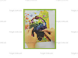 Гравюра «Корзина с цветами», 3031, купить