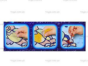 Детский набор для творчества «Мозаика из пайеток», , игрушки