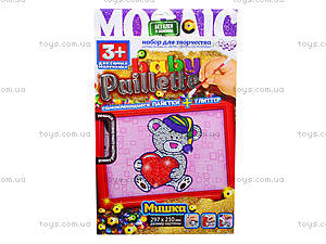 Детский набор для творчества «Мозаика из пайеток», , toys.com.ua