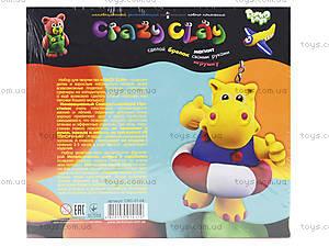 Детский набор пластилина Crazy clay, , купить