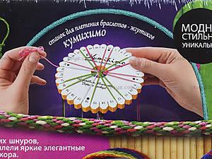 Плетение браслетов-жгутов Kumihimo, , фото