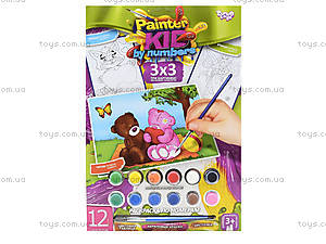 Набор для творчества «Раскраска по номерам», , toys