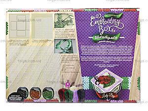 Детское творчество «Шкатулка Embroidery Box», EMB-01-01, фото