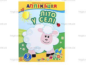 Аппликации для самых маленьких «Лето в селе», С219004У, магазин игрушек