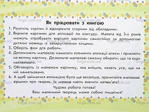 Аппликации для самых маленьких «Лето в селе», С219004У, toys.com.ua