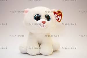 Игрушечная белая кошка Pearl серии Beanie Babies, 42130, фото