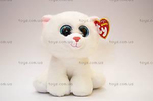 Мягкая белая кошка Pearl серии Beanie Babies, 90236, купить