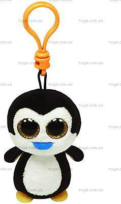 Мягкий брелок «Пингвин Waddles» серии Beanie Boo's, 36505
