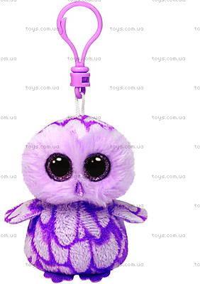 Мягкий брелок «Розовая сова Pinky» серии Beanie Boo's, 36594