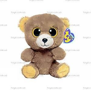 Плюшевая игрушка «Медвежонок Honey» серии Beanie Boo's,