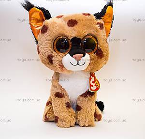 Мягкая игрушка «Рысь Buckwheat» серии Beanie Boo's, 37055