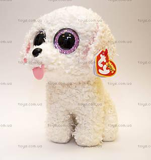 Мягкая игрушка «Щенок Pippie» серии Beanie Boo's, 37065, фото