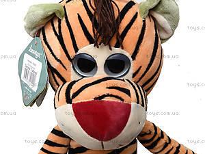 Плюшевая игрушка «Тигрик Сафари», К425С, цена