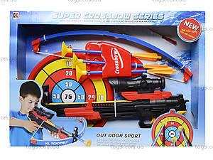 Детский тир со стрелами на присосках, 968, игрушки