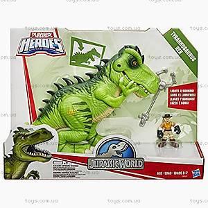 Игрушечный тиранозавр Рекс серии «Мир Юрского Периода», B0537