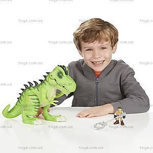 Игрушечный тиранозавр Рекс серии «Мир Юрского Периода», B0537, фото