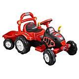 Большой электромобиль с прицепом, 20-001, игрушки