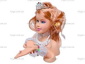 Уценка Голова куклы Jinni, для причесок, 83127, цена
