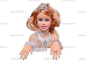Уценка Голова куклы Jinni, для причесок, 83127, детские игрушки