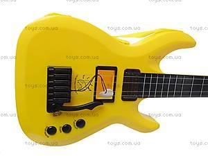 Уценка Гитара струнная в чехле, 5599, игрушки