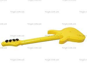 Уценка Гитара струнная в чехле, 5599, детские игрушки