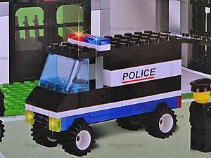 Уценка Конструктор «Штаб полиции», 110, фото