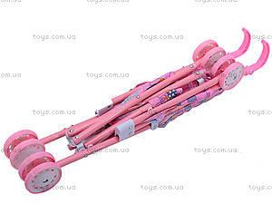 уценка Металлическая коляска для куклы, с крышей, 886AH, фото