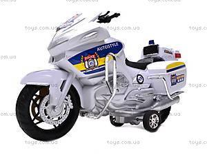 Уценка Мотоцикл инерционный, детский, HR688-1