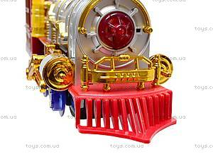Уценка Музыкальная игрушка «Сказочный поезд», 0626, игрушки