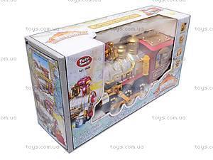Уценка Музыкальная игрушка «Сказочный поезд», 0626, toys