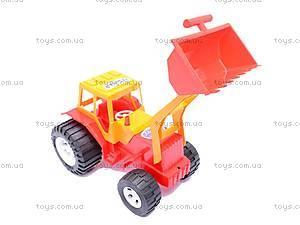 Уценка Трактор «Бамсик», с прицепом, 0072, купить