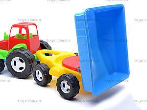 Уценка Трактор с прицепом для детей, 07-709, купить