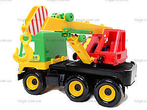 Уценка Игрушечный кран Middle truck, 39226, купить