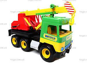 Уценка Игрушечный кран Middle truck, 39226