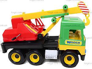 Уценка Игрушечный кран Middle truck, 39226, игрушки