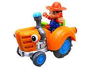 УЦЕНКА Игрушечный трактор со световым эффектом, HD936, детские игрушки