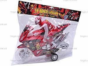 Уценка Инерционный мотоцикл Spiderman, HR638-6, купить