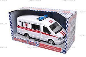 Уценка Инерционный микроавтобус «Скорая помощь», 9098-C