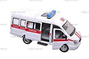 Уценка Инерционный микроавтобус «Скорая помощь», 9098-C, отзывы